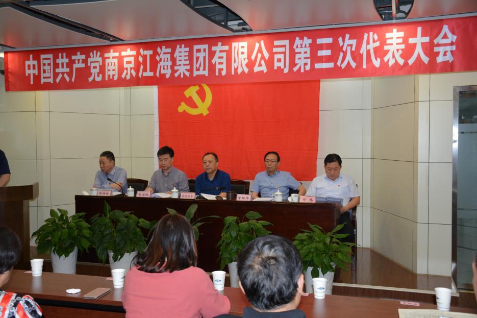 集團公司召開第三次黨員代表大會